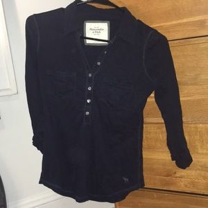 Abercrombie & Fitch 3 quarter length shirt XS